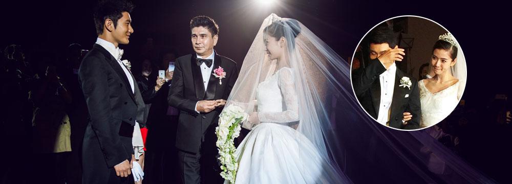黄晓明Baby大婚全程精选:教主都哭了!