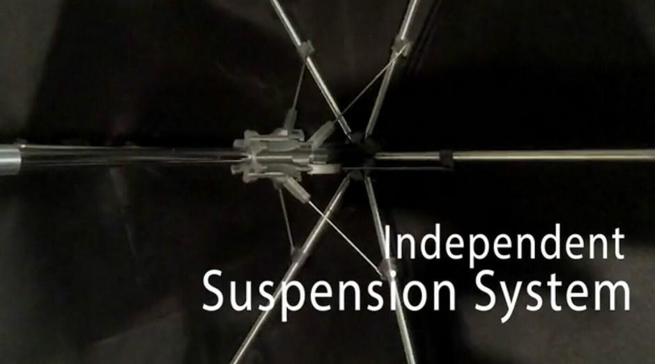 柏树一样坚固的3D打印雨伞 配独立悬架系统的照片 - 20