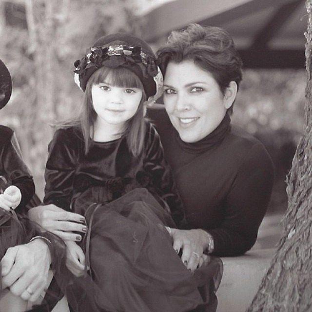 泰国ken小时候照片-超模晒童年照 网友 美哭图片