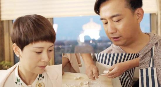 [明星爆料]海清跟黄磊学包冬至饺子 学习新技能轻松get!