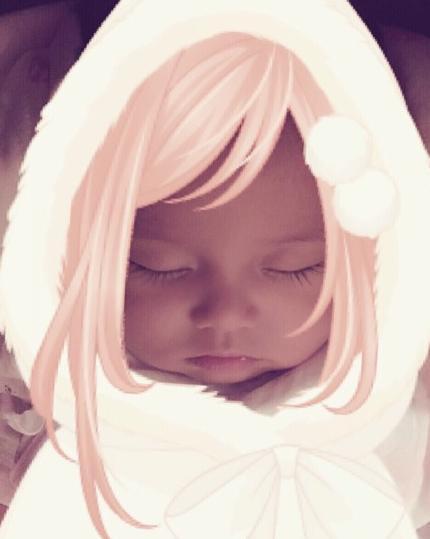 [明星爆料]周杰伦女儿正面照曝光 遗传混血妈妈美貌(图)