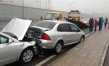 当你看到车上这几个灯亮了 那离车祸就不远了……