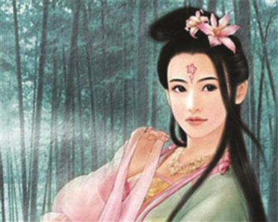 古代皇后嫔妃手绘