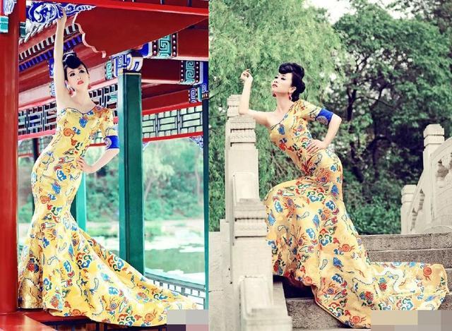 [明星爆料]当芙蓉姐姐穿上范冰冰的龙袍 照片差点没拍成