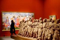 中国美术馆三大跨年展迎接猴年新春