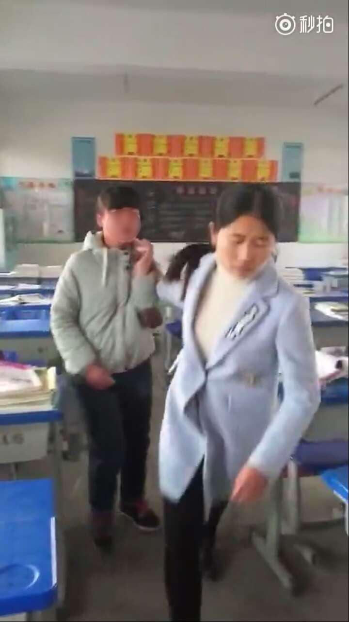 湖北孝感一老师被曝50秒内连扇学生十几个耳光