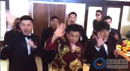 [明星爆料]小虎队合体大唱《青苹果乐园》 新娘房前打动刘诗诗