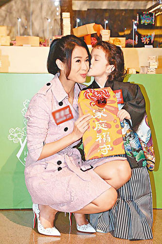[明星爆料]胡杏儿期待做妈妈:至少生两个!