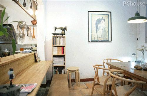 清新文艺风 可以体验开咖啡店乐趣的民宿