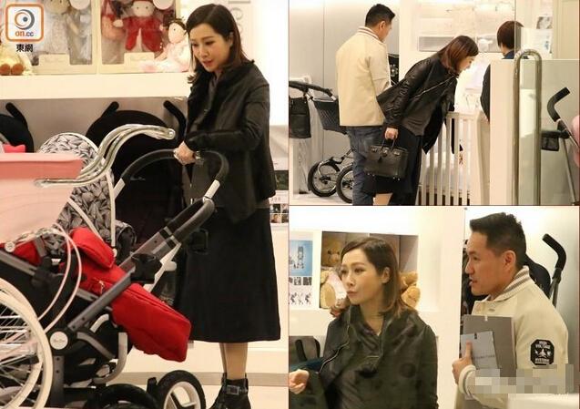[明星爆料]关心妍挺五个月大肚逛街 与老公同行买皇家婴儿车