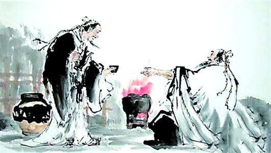 诗豪刘禹锡与诗仙李白洞庭诗的颠峰对决