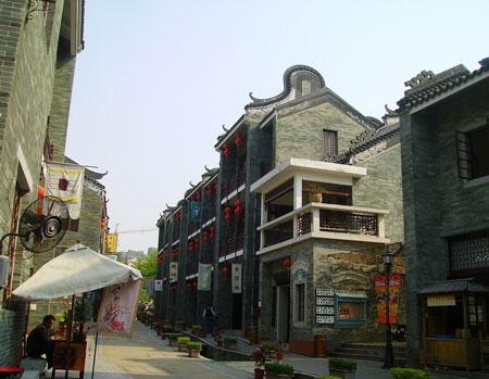 广州特色建筑简笔画