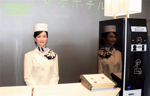 全球首家纯机器人酒店日本开业 顾客可刷脸进入房间