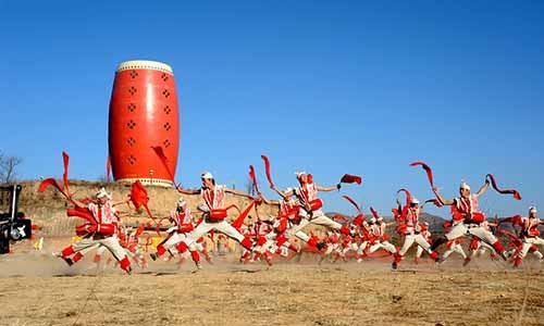 陕北秧歌-中国第一鼓 安塞腰鼓