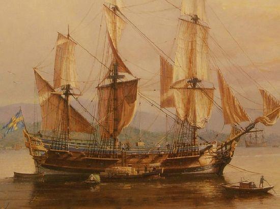 哥德堡号 一艘承载厚重文化的帆船