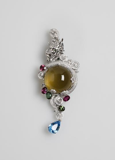 中国珠宝首饰设计与制作技能大赛获奖名录图片