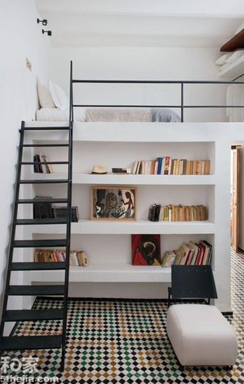 小户型卧室装修设计案例效果图八: