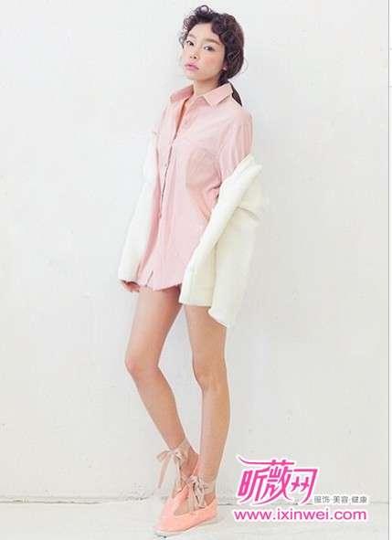 初春造型 做简约可爱的韩系清新氧气女孩