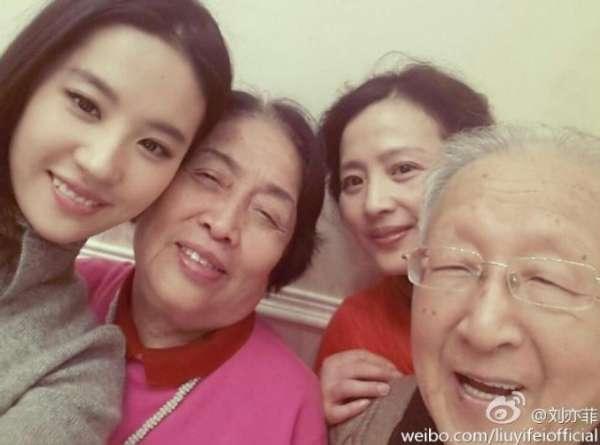 揭娱乐圈美女家族:张柏芝老妈似太妹