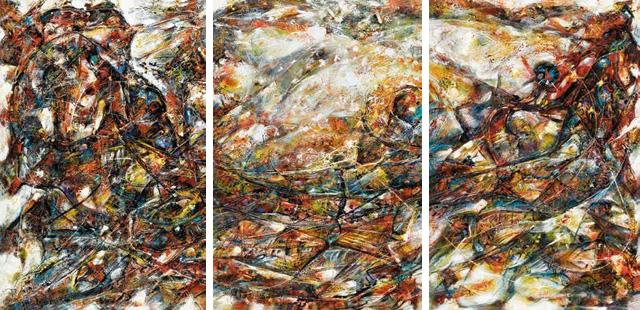 行星的对话 戴维·罗切(加拿大) /  Planetary Dialogue David Roche (Canada) / 92cm×61cm×3