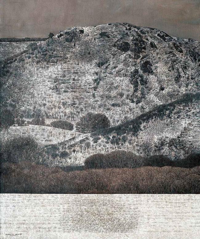 苍山如镜之六 李鑫 / Series 6 of Mountains Li Xin / 180cm×150cm
