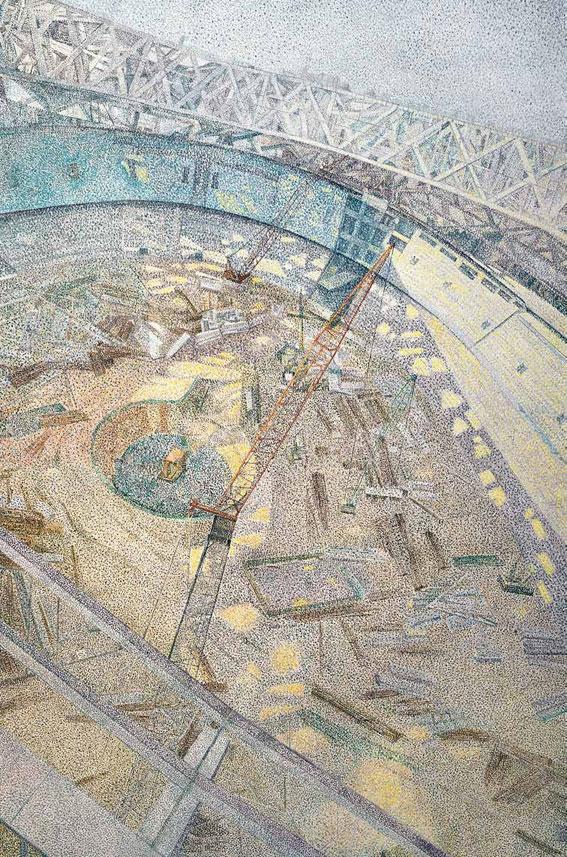 鸟巢·ing 张亚亮 /  Bird' s Nest Zhang Yaliang / 210cm×140cm