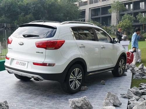 起亚新款智跑正式上市 8款车型售16.48万 24.98万