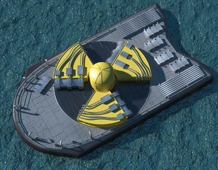 民用防核别墅图片