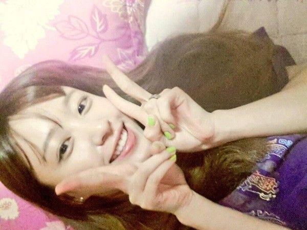 """韩女星哈妮自拍""""床照"""" 谎称为男友偷拍"""