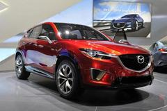 马自达将推全新跨界SUV 同斯巴鲁XV竞争