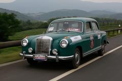 老式汽车中国巡礼 全程驾驶1958年奔驰S
