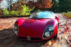 《经典车》仅造18台的阿尔法•罗密欧