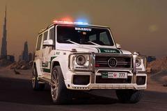 巴博斯为迪拜警方打造700马力G级警车