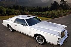 《经典车》属于两个人的林肯全尺寸轿车