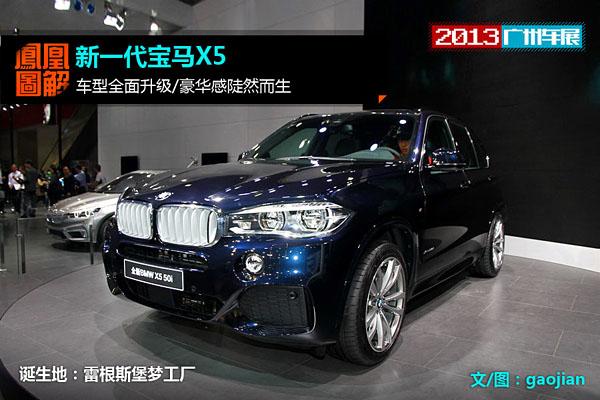 [凤凰图解]新一代宝马X5 车型全面升级