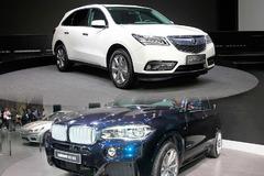 讴歌全新MDX对比宝马全新X5 高档7座SUV