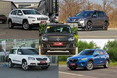 2013年车型实拍推荐:小清新最爱的SUV