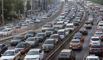 京城五一假期现史上最长拥堵 出京长龙长达55公里
