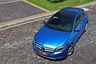 2013款梅赛德斯-奔驰A200 小将显魅惑