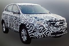 北汽SUV C61X无伪谍照曝光 2015年上市