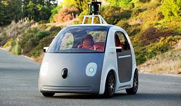 Google真正无人驾驶汽车发布 引领未来
