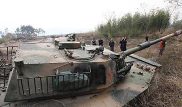 浙江老板购退役两栖坦克车 欲参加越野比赛
