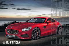 奔驰AMG GT将亮相巴黎 明年3月发布