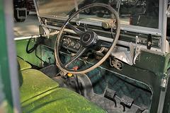 实拍路虎Series I:卫士车型的老前辈