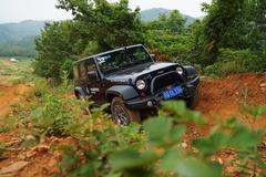Jeep全路况体验试驾 越野标准我来定