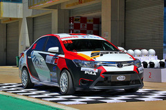 威驰杯中国挑战赛 体验车与赛道激情