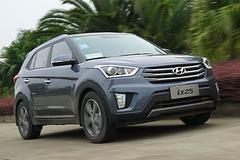 试驾北京现代ix25 搅局小型SUV市场
