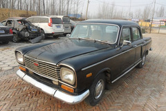 中国国际老爷车展之上海牌轿车SH760A