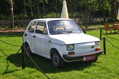 中国国际老爷车展之时尚菲亚特126P