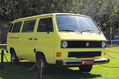 中国国际老爷车展之1982年款大众T3